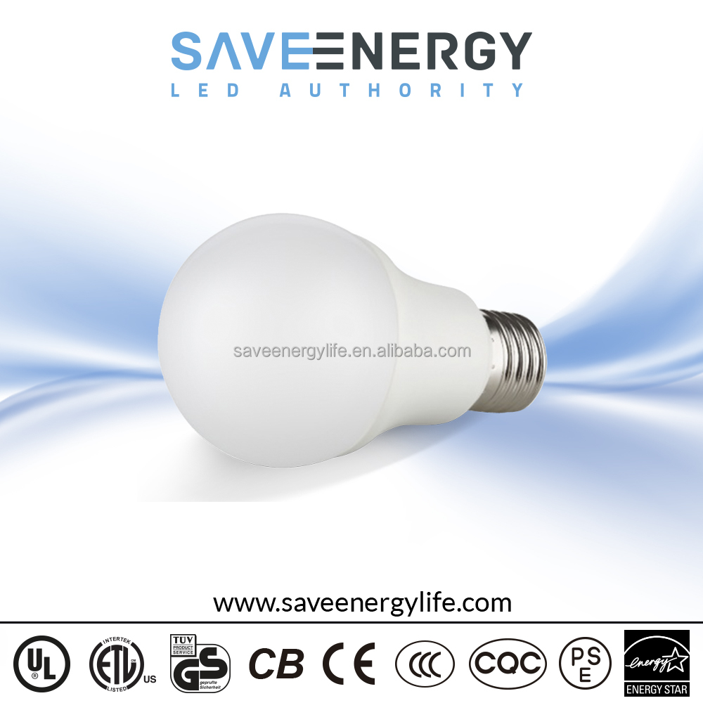 Led Light Bulb Lamp 24vdc A60 9w, fluorescent bulb ce rohs, 90lm/w e27 20w led bulb warm white