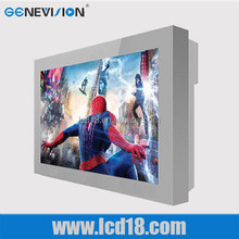 22 inch cheap low price wall mount outdoor advertising led advertising digital