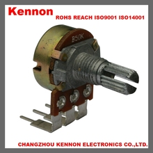 ALPS PCB rotary 4.7k ohm potentiometer B500K B100K audio video carbon low cost potentiometer