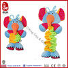 2014 new product plush elephant soft toy with pull string