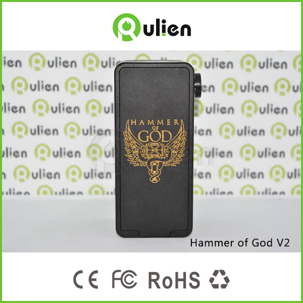 Newest !!!exclusive Hammer V2 Of God Box Mod 1:1 clone Hammer V2 God box Mod factory price Hammer V2 God Box Mod