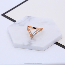 fashion high quality ladies gold ring designs beautiful finger ring jewelry ring model