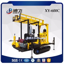 Portable XY-600C crawler mounted diamond core sample drilling rig for sale