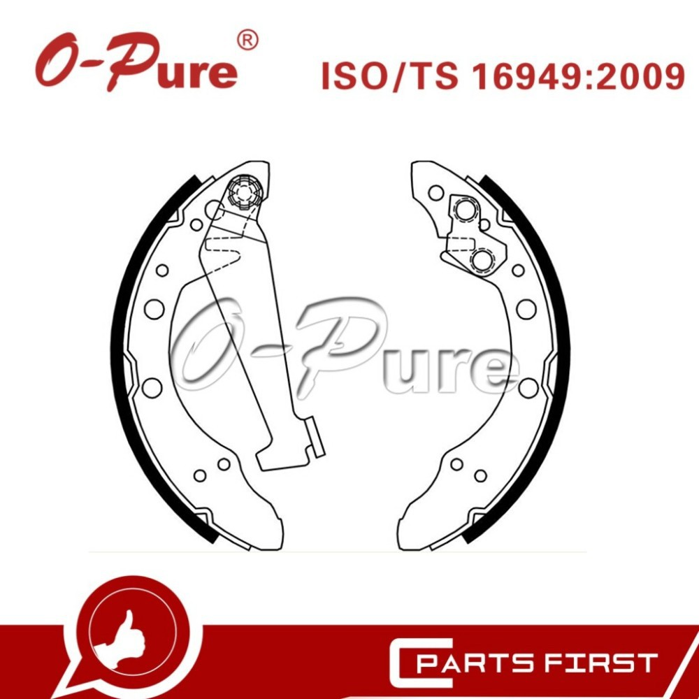 car parts for VW Golf OEM 811 609 526 E brake shoe