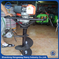 Mini digging machine , tree planting hole digger , hole drill