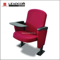 Leadcom foldable student chair with tablet arm for lecture hall LS-6618T
