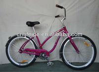 26 pink bicycle/bike/cycle beach bicycle