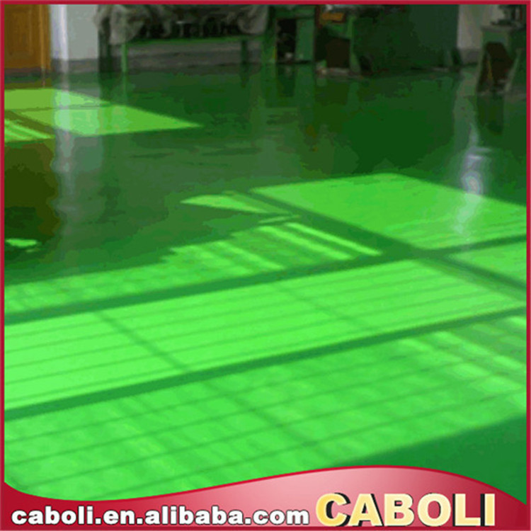 Caboli concrete paint for floor with acid stain