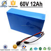 Gold Supplier3.7V 2.0Ah 6P16S 18650 Cell 60V ev li-ion battery pack with BMS Charger