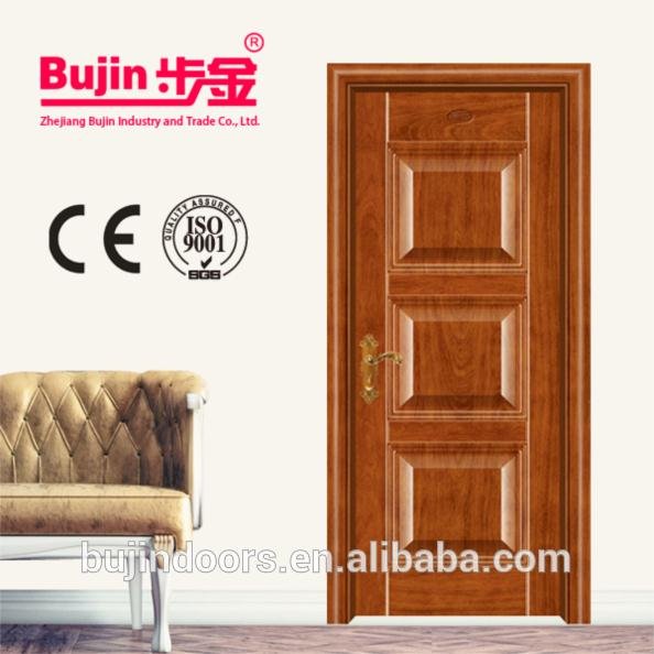 China Factory Oversized wooden steel armored entry door
