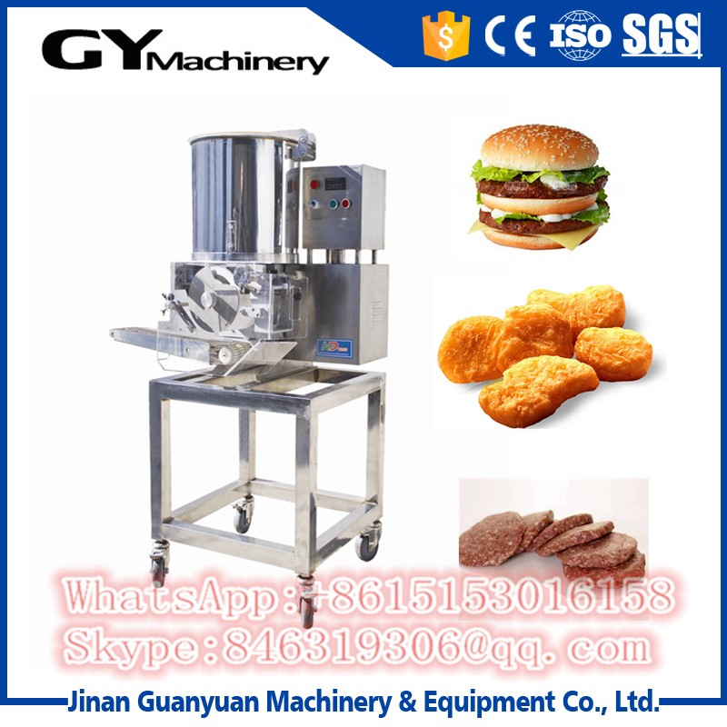 Hamburger Frozen Chicken Nuggets Packing Machine