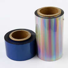 ZHY-175 For comestic use, cold silver holographic foil for fabric