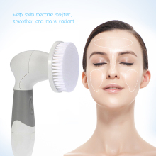Private Label Beauty Machine Wholesale Rechargeable Silicone Facial Brush For Face Deep Cleaning