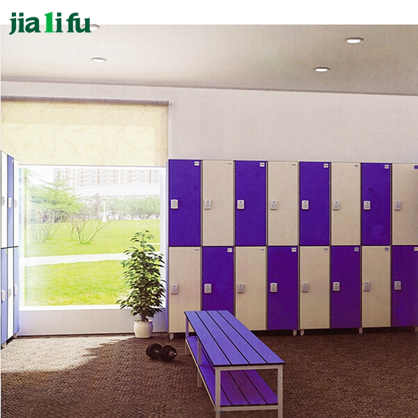 JIALIFU electronic lock phenolic compact storage cabinet locker