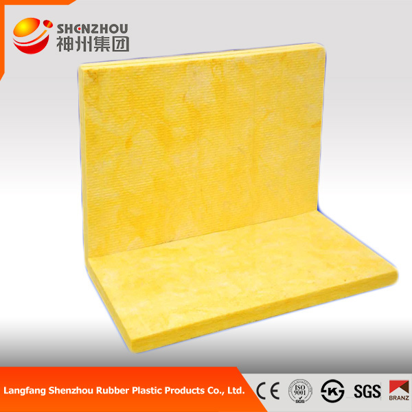 Soundproofing heat insulation glass wool for exhausts glass wool batts