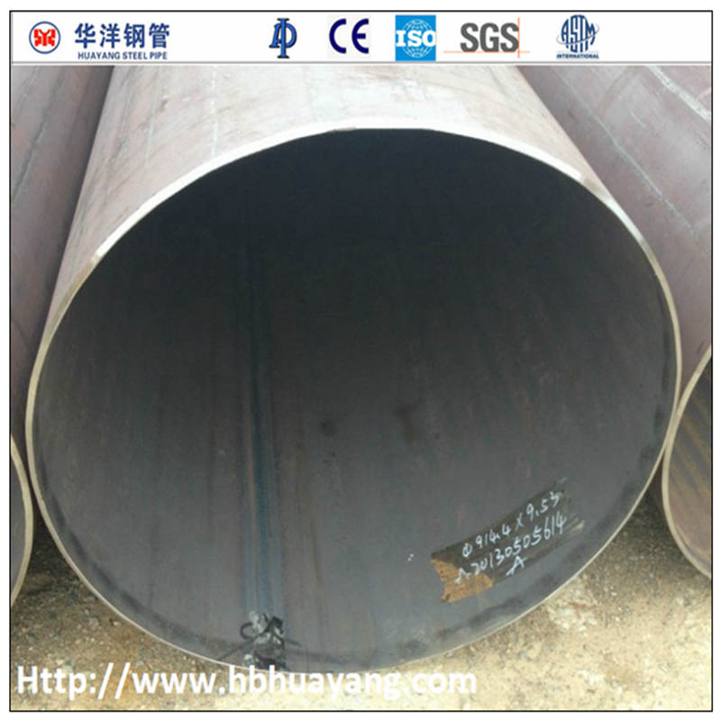 SGS large diameter welded steel pipe inspection service