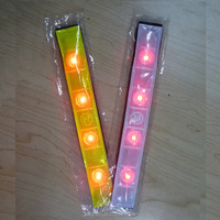 LED reflective safety wristband with moderate price