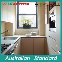 AIS_K1065 Australian style small kitchen designs whole sale modular kitchen set