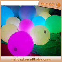 custom led 1m 1.5m 2m large PVC inflatable crowd balloon for party