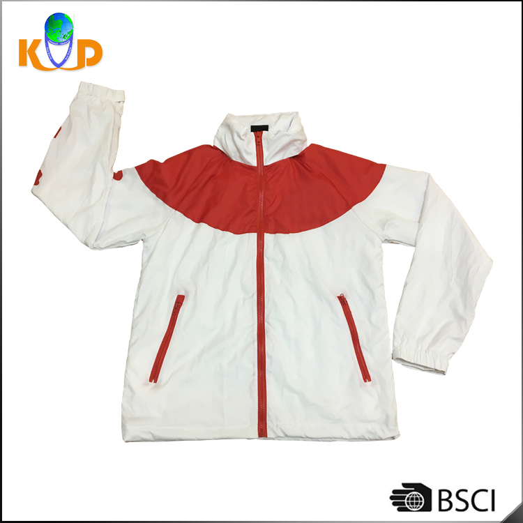 100% polyester wind-proof/ Rain-proof Jacket for Outdoor Camping / Biking