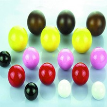 Assorted color Wood Beads bulk with hole ,customized size and color available