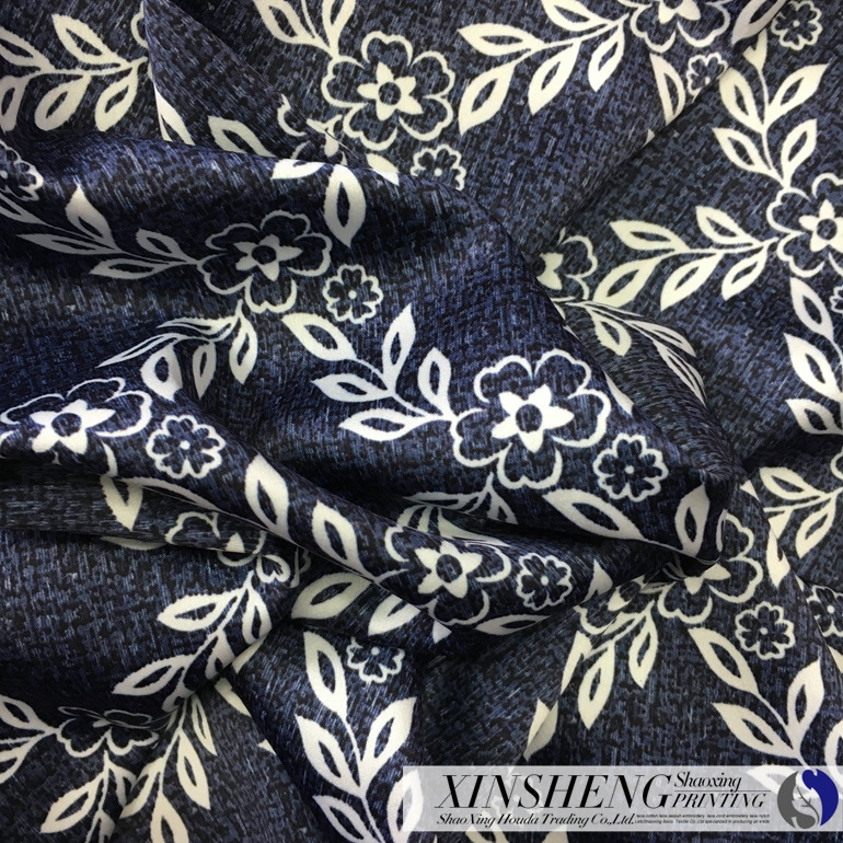 high quality camouflage design sublimation 100%polyester weave satin fabric for clothes