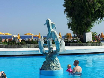 Cute dolphin swimming pool sculpture buy swimming pool sculpture swimming pool sculpture for Poole dolphin swimming pool prices
