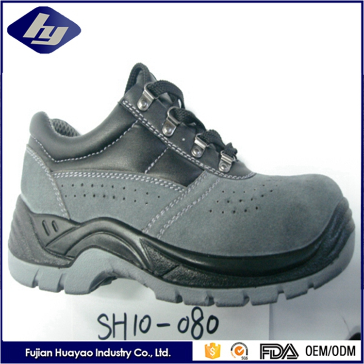 High Qulity PU Leather Worker Shoes Waterproof Steel Toe Ranger Safety Shoes