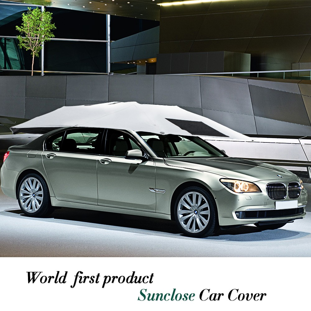 Outdoor waterproof foldable car parking canopy carport