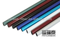 black Carbon fiber unidrectional tube /plate ( Round /Square Tubing products)