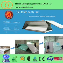 easy assemble storage container/container for storage/flat pack container