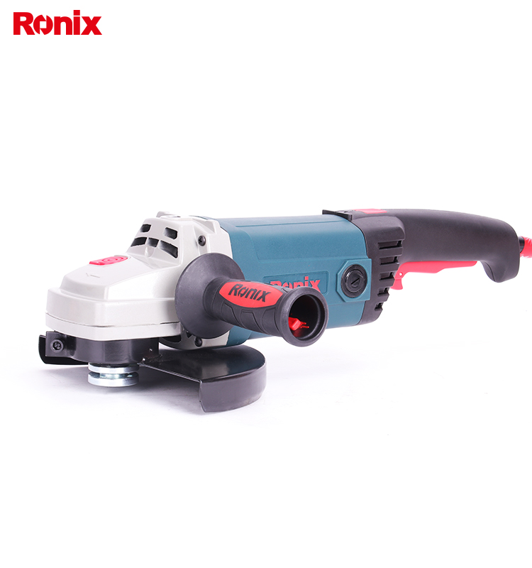 Ronix 230mm 2500w Reversible Angle Grinder Power Hand Grinder Model 3221