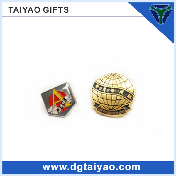 LOW MOQ Metal material Small size Detective badge for Personalize Logo