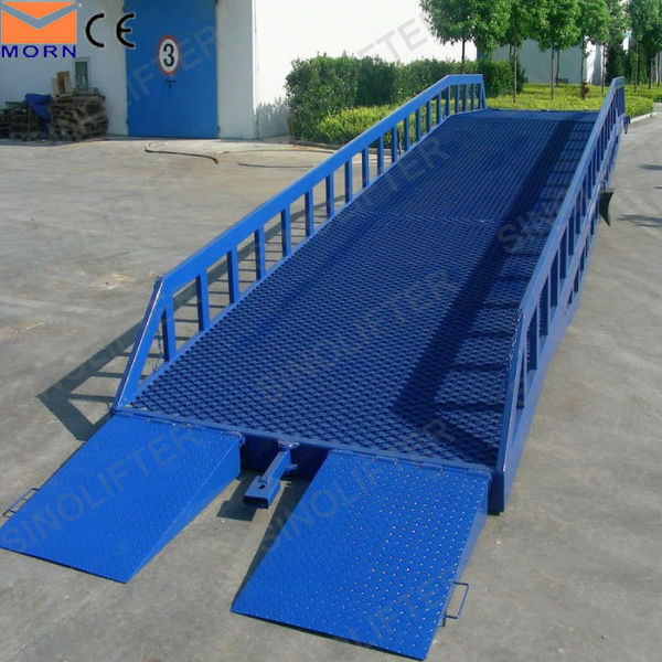 10t capacity mechanical dock leveler