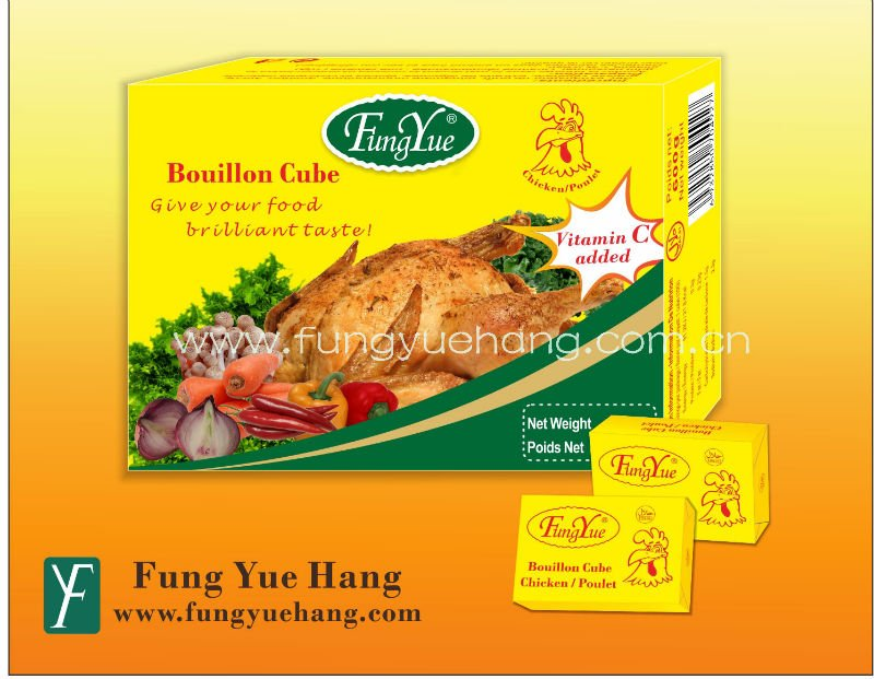 10g Halal Chicken Powder Halal Bouillon Cube