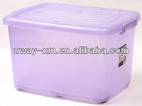 Extra large transparent PP storage box