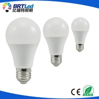 2017 New Product led A60 led bulb Plastic+Aluminum 5w SMD2835 E27 60*110mm AC100-240V CRI>75 70lm/w warm white 2yearsWarranty