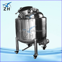 soap / detergent mixing tanks agitating equipment 1000l capacity chemical mixing tank