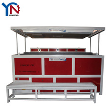 PVC PET PP PS vacuum forming machine for toy