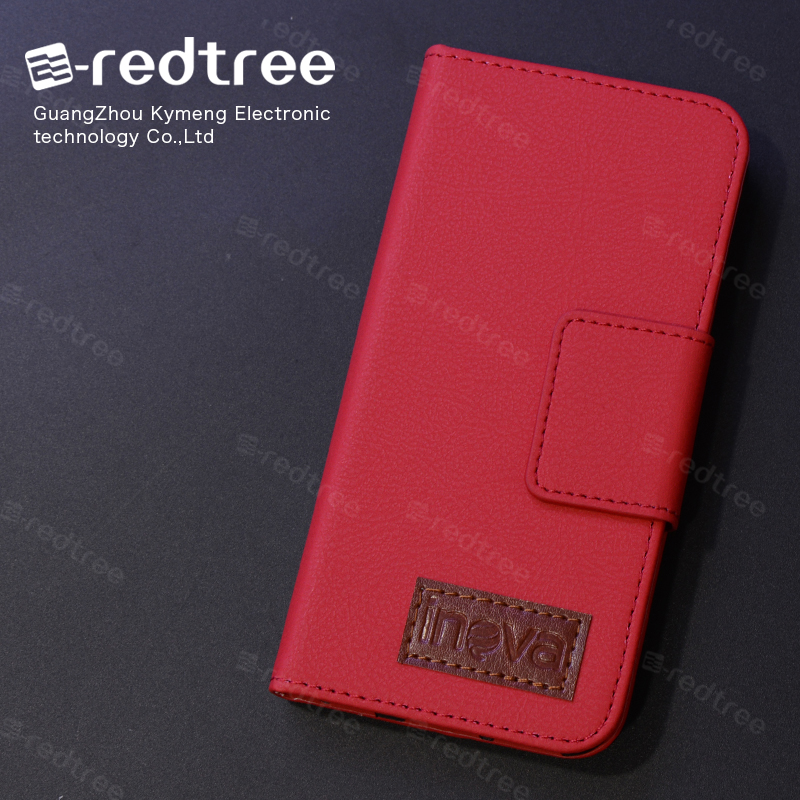 Made in Guangzhou Flip Leather Card Holder Cell PHone Case for Samsung Galaxy note 3