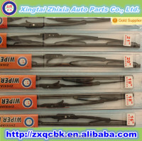 Best-selling universal wiper blade the salable washer nozzle metal frame windshield wiper
