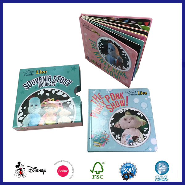 Children Thick Paper Board Book Printing