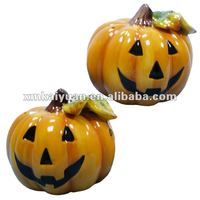 Halloween decoration ceramic pumpkin
