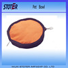double foldable portable bowl for pets and dogs