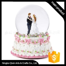 Promotional Bride and Groom Water Globe
