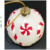 Christmas ball colored drawing wax candles Festival gift ribbon candles