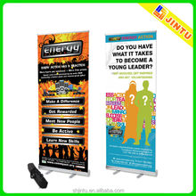 Water base outdoor roll up advertising banner stand