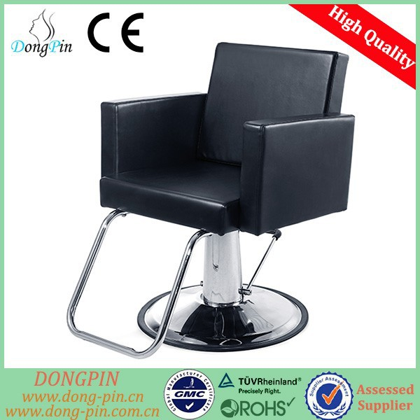 black saloon chair for customers