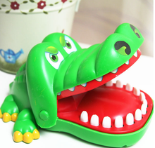 Large Crocodile Mouth Dentist Bite Finger Game Funny Novetly <strong>Toys</strong> For Kids