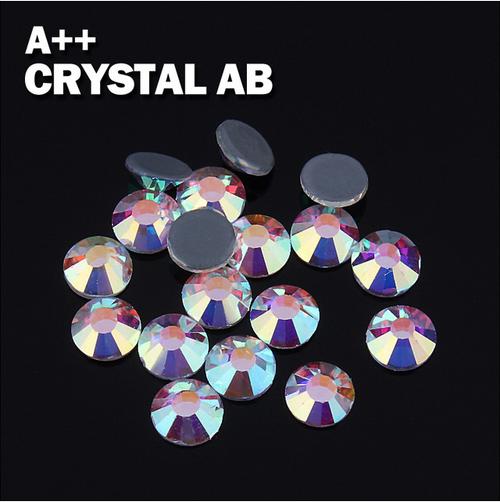 AAA Rhinestones jpstrass Quality Hot Fix Rhinestone Crystal Stone Crystal  AB Strass Hotfix SS6 SS10 SS16 SS20 SS30 9e2954839f43